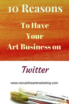 Are you feeling overwhelmed with all of the social media networks? Does it seem like every time you turn on the computer you read about the next best social media site to promote your artwork? Social media is a great way to build your business if it is done the correct way. In this post, you will discover why you might want to have your art business on Twitter. Social Media Marketing Business, Facebook Marketing, Twitter Help, Make Business, Selling Art Online, Social Media Site, Feeling Overwhelmed, Blog Tips, Art Market