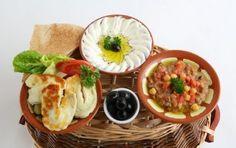 Oriental Arabic Breakfast