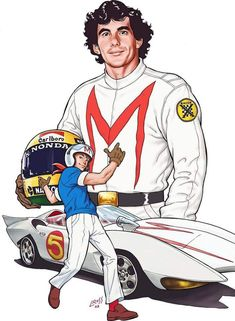 Next Saturday would be the of a Brazilian super hero! Thanx Senna! Speed Racer Cartoon, Sport Cars, Race Cars, 135i Coupe, Kart Racing, F1 Racing, F1 Drivers, Classic Cartoons, Car And Driver