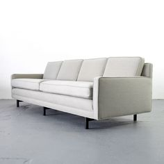 Mid Century Modern 4-Seater Sofa by Paul McCobb for Directional   4er Couch 60er