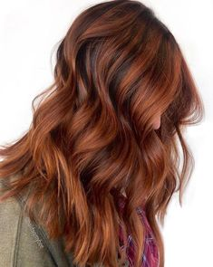 Ruby Red Hair, Red Blonde Hair, Red Ombre Hair, Dyed Red Hair, Dip Dye Hair, Neon Hair, Violet Hair, Red Balayage Hair, Pinkish Brown Hair