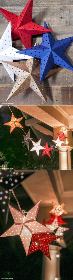 Celebration DIY party décor - 4th of July