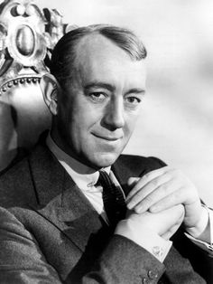 """Alec Guinness """"The Era of the Ealing Comedy (for The British Invaders Blogathon)"""" by Margaret Perry (margaretperry.org)"""