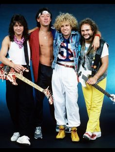"""""""It's 5150 Time!"""" On this day in Van Halen Mach II was born! ushered in a decade of albums and more sold-out tours with vocalist Sammy Hagar (The Red Rocker). Who loves that decade of VH? (Photo by Mark Weiss Photography) Alex Van Halen, Eddie Van Halen, Music Mix, My Music, Music Guitar, Wolfgang Van Halen, Gary Cherone, Van Halen 5150, Van Hagar"""