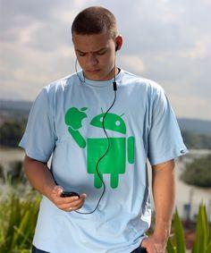 I like Apple - Azul - Masculino