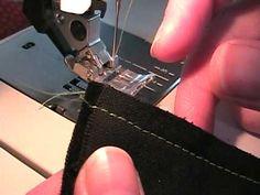 How to Sew Napped Fabrics (like velvet and corduroy)
