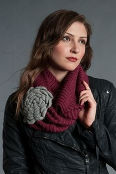 Olivia scarf #FairTuesdayGifts #FairTuesday #GreenolaStyle. My sister loves infinity scarfs and this is adorable!