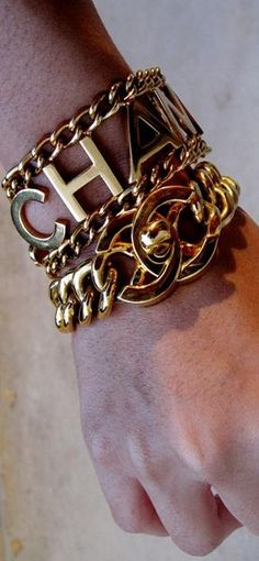 Chanel stacking