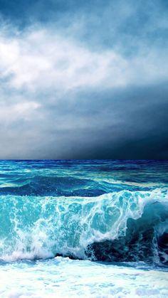 New Painting Sea Waves Nature Ideas No Wave, Sea And Ocean, Ocean Beach, Ocean Sunset, Ocean Art, Ocean Life, Waves Wallpaper, Ocean Pictures, Ocean Photography