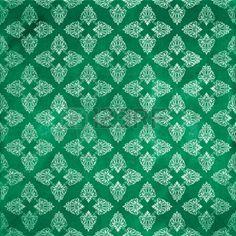 damask grunge seamless pattern