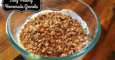 I am bit of a granola nut. There really is not much NOT to love about homemade granola. It is super easy to make with ingredients ...