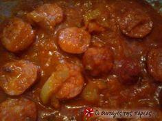 Μια κλασσική πηλιορίτικη συνταγή, που φτιάχνεται πολύ εύκολα και το αποτέλεσμα είναι πεντανόστιμο Dessert Recipes, Desserts, Greek Recipes, Beans, Food And Drink, Vegetables, Cooking, Ethnic Recipes, Tailgate Desserts