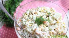 Krabowa sałatka z makaronem na imprezę  http://kotlet.tv/krabowa-salatka-z-makaronem-na-impreze/