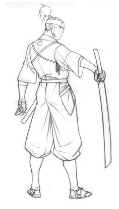 Young Musashi: Rough pencils by philbourassa on DeviantArt Drawing Skills, Drawing Poses, Drawing Sketches, Samurai Drawing, Samurai Art, Figure Drawing Reference, Art Reference Poses, Samurai Poses, Ninja Art