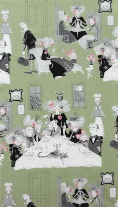 Alexander Henry Fabric  Ghastlie Night by StitchinStash on Etsy, $9.00