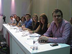 El panel de jueces del Casting de las 20 finalistas Chica E! 2011