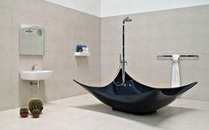 Bañera independiente / de Pietraluce® LEGGERA: LG210 by Gilda Borgnini FLAMINIA