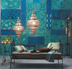 25 Perfectly Living Room Decor Ideas - Home Decor & Design Moroccan Design, Moroccan Decor, Moroccan Style, Ethnic Design, Moroccan Bedding, Moroccan Lounge, Ethnic Style, Modern Interior Design, Interior And Exterior