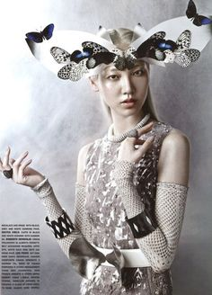 Vogue Italy - September 2012 | The House of Beccaria~
