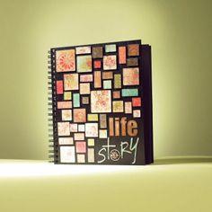 Tim Holtz Life Story Mosaic Photo Journal