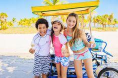"""Children's Sun Protection Swimwear """"Snapper Rock"""" Rocks #SnapperRock"""