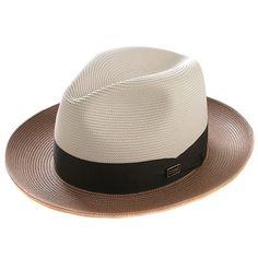 fbcc9488da9 Dobbs - Beige Cognac Toledo Hats For Men