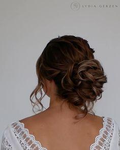 Hairdo For Long Hair, Prom Hairstyles For Long Hair, Crown Hairstyles, Wedding Hairstyles Up, Curly Updos For Medium Hair, Short Hair, Celebrity Wedding Hair, Wedding Hair And Makeup, Wedding Hair Updo