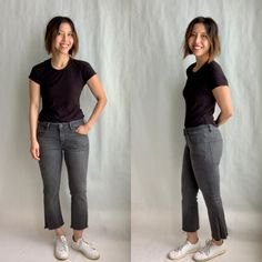 Denim Trends We Can Get Behind How To Look Skinnier, Denim Trends, Muffin Top, Normcore, Skinny Jeans, Legs, How To Wear, Fashion, Skinny Fit Jeans