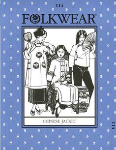 Patterns - Folkwear #114 Chinese Jacket