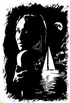 Тушь. Автор Лилия Цветкова #рисунок_тушью #портрет_по_фотографии #портрет_на_заказ #портрет_черным_контуром #портрет_по_фотографии_тушью #портрет_тушью
