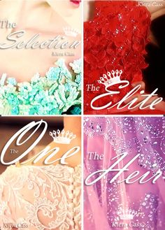 The Selection - The Elite - The One - The Heir