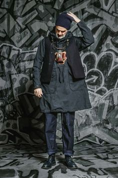 Engineered Garments Fall 2016  --- I would wear it, even though I'm nnot a man---