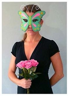 Buterfly queen - felt mask idea (etsy shop empty)