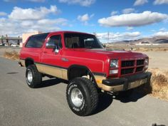 Old Trucks for Sale. Vintage, Classic and old trucks. Dodge Suv, Dodge Ram 4x4, Old Dodge Trucks, Suv Trucks, Cool Trucks, 4x4 Trucks For Sale, Custom Pickup Trucks, Vintage Pickup Trucks, Antique Trucks