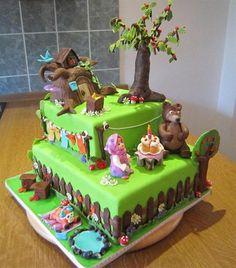russian birthday cakes | ... Bear Russian Cartoon — Childrens Birthday Cakes Cake on Pinterest