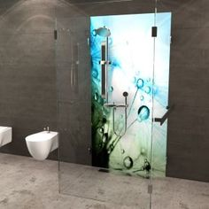 Duschrückwand Lotusblüte   Duschrückwände von Fofela.de   Pinterest ...