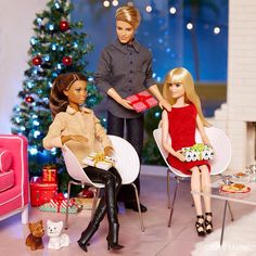 Happy to be home for the holidays!  #barbie #barbiestyle