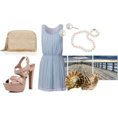 Dinner on the Water, created by brittney-bouchillon on Polyvore