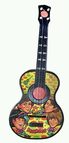 1966 Monkees toy guitar