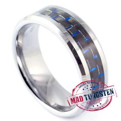 Beach Head Rings - Tungsten Rings by Mad Tungsten