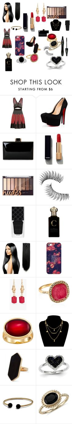 """Sem título #153"" by brunagzilli on Polyvore featuring moda, M Missoni, Chanel, Lancôme, Trish McEvoy, Gucci, Clive Christian, Casetify, Chico's e Accessorize"