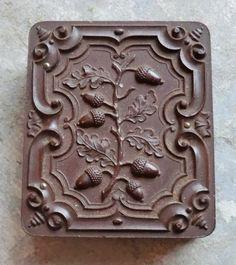 Late 19th Century Amazing Union Case with Acorn Design