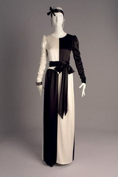 Yves Saint Laurent Dress, Fall/Winter 1979-1980 …