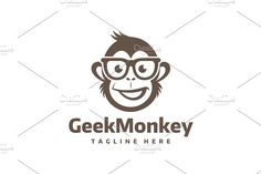 Geek Monkey by yopie on @creativemarket