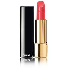 CHANEL ROUGE ALLURE Luminous Intense Lip Colour ($35) ❤ liked on Polyvore featuring beauty products, makeup, lip makeup, lipstick, beauty, lips, chanel lipstick and chanel