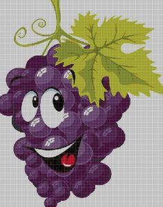 Grape+cross+stitch+pattern+in+pdf+DMC