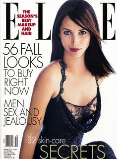 Christy Turlington for Elle US October 1999 LOVE this dress