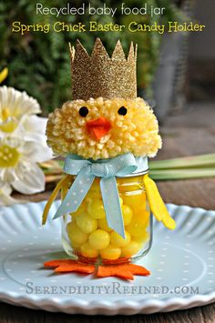 Chick Candy Holder