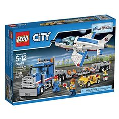 LEGO City Space Port Training Jet Transporter Building Kit 60079 |
