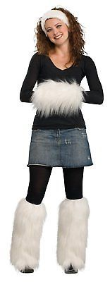 Leg Warmers 163587: Secret Wishes Faux Fur Muff With Leg Warmers And Headband Set, White, One Size -> BUY IT NOW ONLY: $38.43 on eBay!